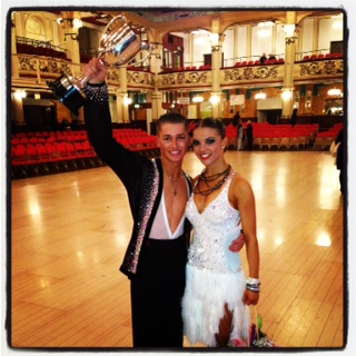 British National under 21 Latin Champions 2012, Held in The Prestige