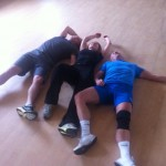After a session of Tabata!!