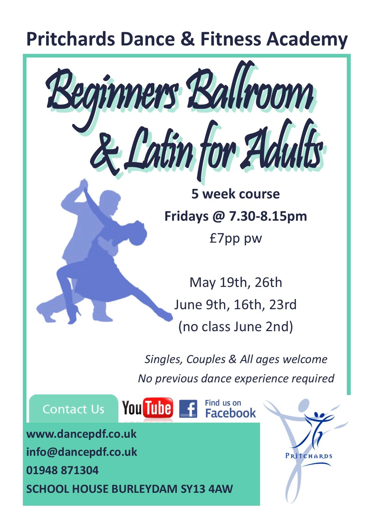 Ballroom & Latin Poster May 17