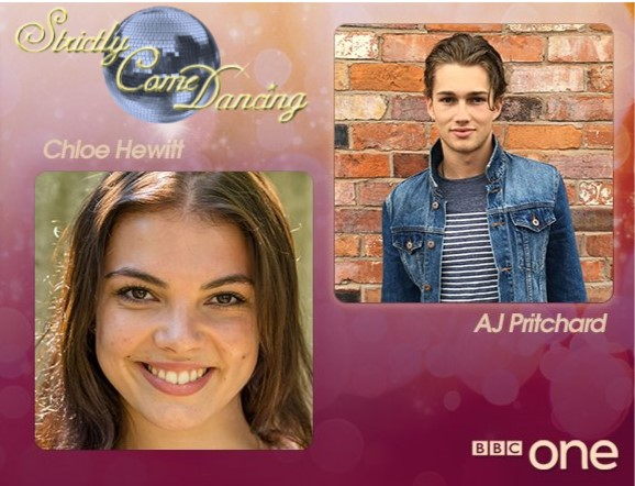 AJ & Chloe – New Strictly Come Dancing Professionals
